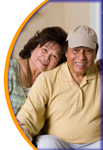 Oriental Couple Home Care Patients